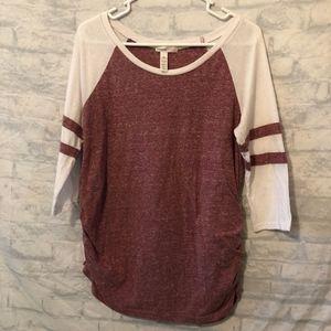 Ambiance Maternity 3/4 Sleeve T Shirt